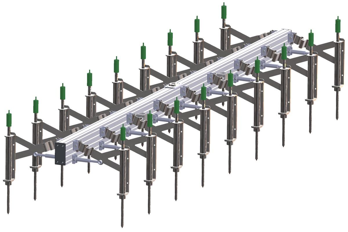 Konzeptstudie Elektrodenrahmen